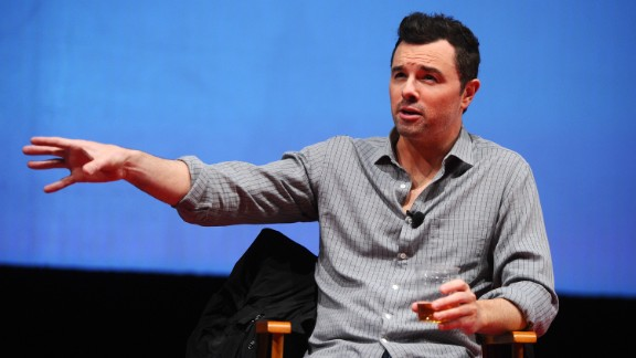 "Seth MacFarlane, creator of the animated series ""Family Guy,"" has become vocal about his atheism. Asked about it in a 2009 interview with Esquire, he said, ""It"
