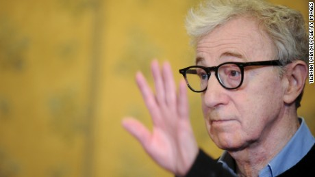 Woody Allen says he is feeling the pressure of trying to do an original series for Amazon.