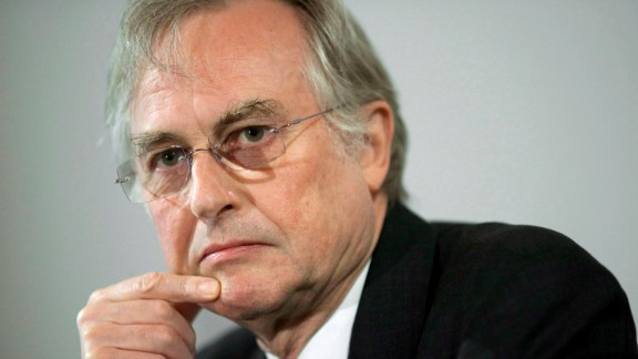 British evolutionary biologist and prominent atheist Richard Dawkins