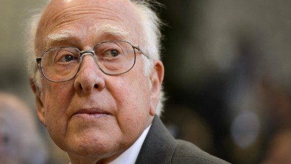 "British physicist Peter Higgs is among those credited with the theory behind the Higgs boson, a subatomic particle long thought to be a fundamental building block of the universe. In an interview with the BBC, he expressed his discomfort with people calling it the ""God particle."" He said, ""First of all, I"