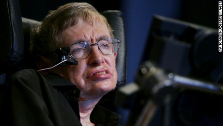 British scientist Stephen Hawking attends a conference during the 2006 International Conference on String Theory on June 21, 2006 in Beijing, China.