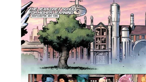 Since 2011, the school for mutants has been named after Jean Grey, the first female member of the X-Men.