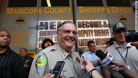 Arpaio moves to dismiss case against him after Trump's pardon