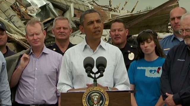 Obama: Oklahomans inspire with courage