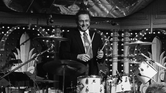 """A longtime friend of the drummer said you could always see Ed Shaughnessy's """"smile behind the (drum) kit."""""""
