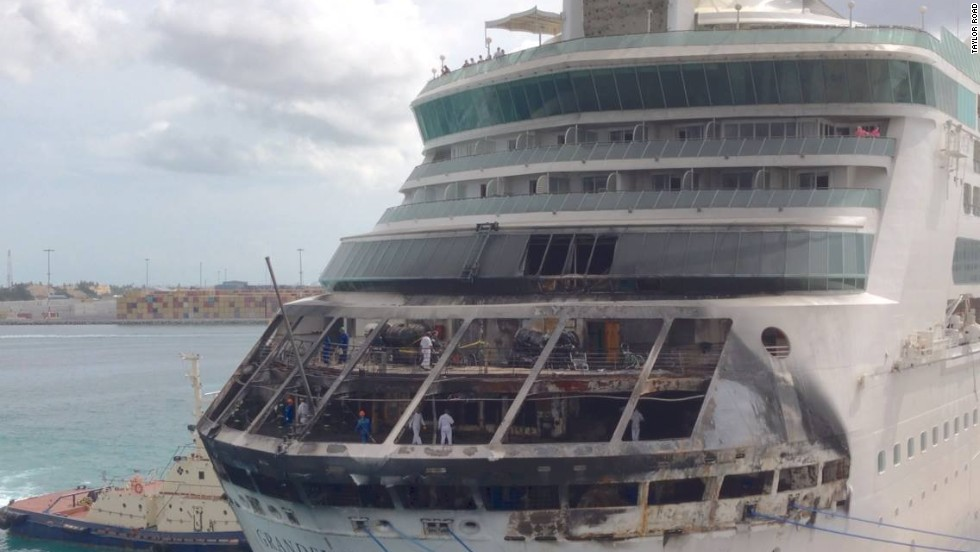 Royal Caribbean Passengers Flying Home After Fire Cuts Short - Rocking cruise ship