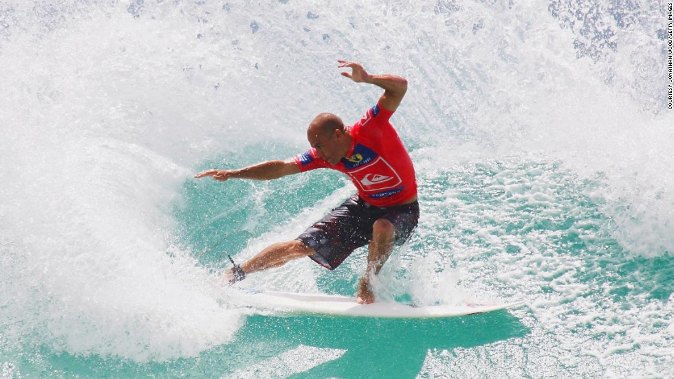 "For Slater, surfing is more than just a sport: ""Surfing is my religion, if I have one."""