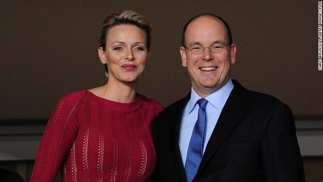 Prince Albert II of Monaco married Charlene Wittstock, a former South African Olympic swimmer in 2011.