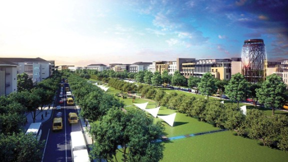 """A new mixed-use development for more than 150,000 residents, Tatu City was initiated by Rendeavour, """"Africa's largest property developer."""" It's a 5,000 acre mixed-use development with schools, homes, sports facilities and green spaces."""