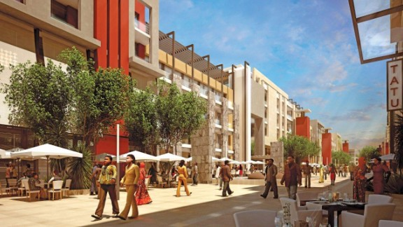 It aims to be a new urban center outside the capital Nairobi, and businesses are already located in the locality. In an attempt to lure companies, the city has a special economic status providing lower businesses taxes.