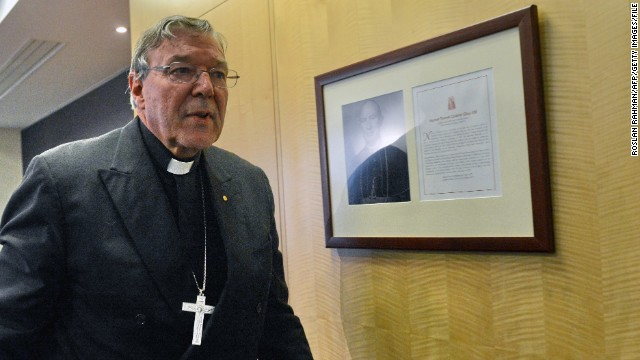 Cardinal George Pell, Australia's most senior Catholic, seen in this file photo, denied personally covering up the abuse of minors.