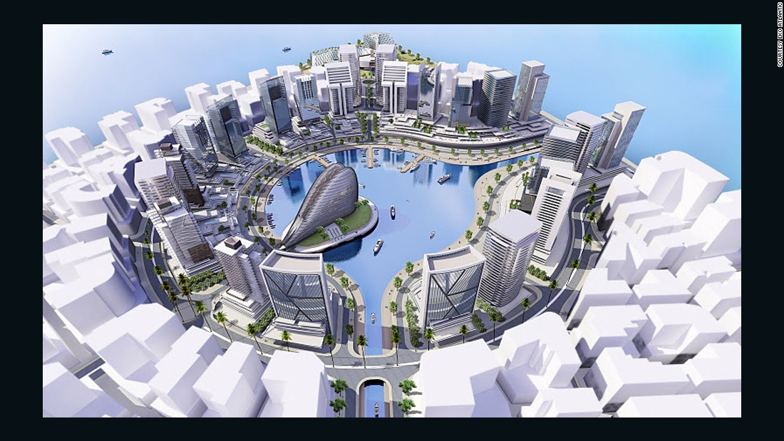Many hope that projects like the Eko Atlantic will bring more investment opportunities to the city.