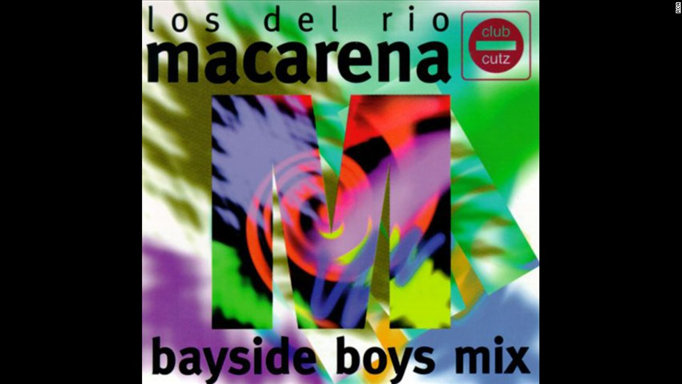 "Not even the passage of 17 years can erase the pulsating beat of this one-hit-wonder from our minds. The Bayside Boys' remix of Los Del Rio's <strong>""Macarena""</strong> -- which launched<a href=""http://www.youtube.com/watch?v=XiBYM6g8Tck"" target=""_blank""> a dance craze</a> -- blew up the Hot 100 in August of '96 when it reached No. 1. ""Macarena"" was a lighthearted counterpart to '96's other huge hit, Bone Thugs-n-Harmony's <strong>""Tha Crossroads.""</strong>"