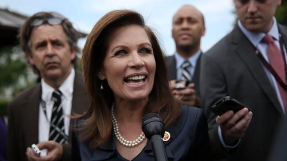 U.S. Rep. Michele Bachmann has announced she won