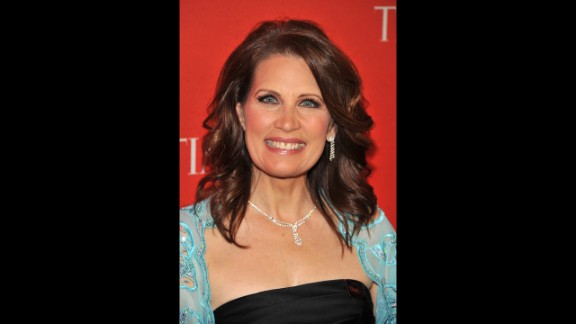 Bachmann attends the Time 100 Gala at Lincoln Center in New York in April 2011. The magazine named her one of the 100 most influential people in the world that year.