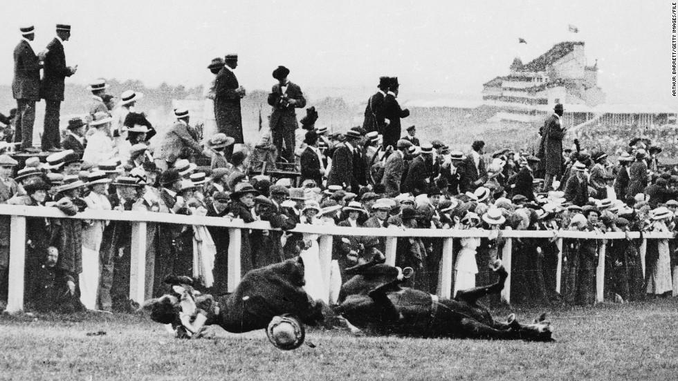 suffragette emily davison s death feminist hero or loon cnn