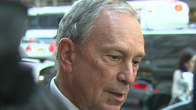 Mayor Bloomberg reacts to ricin letters