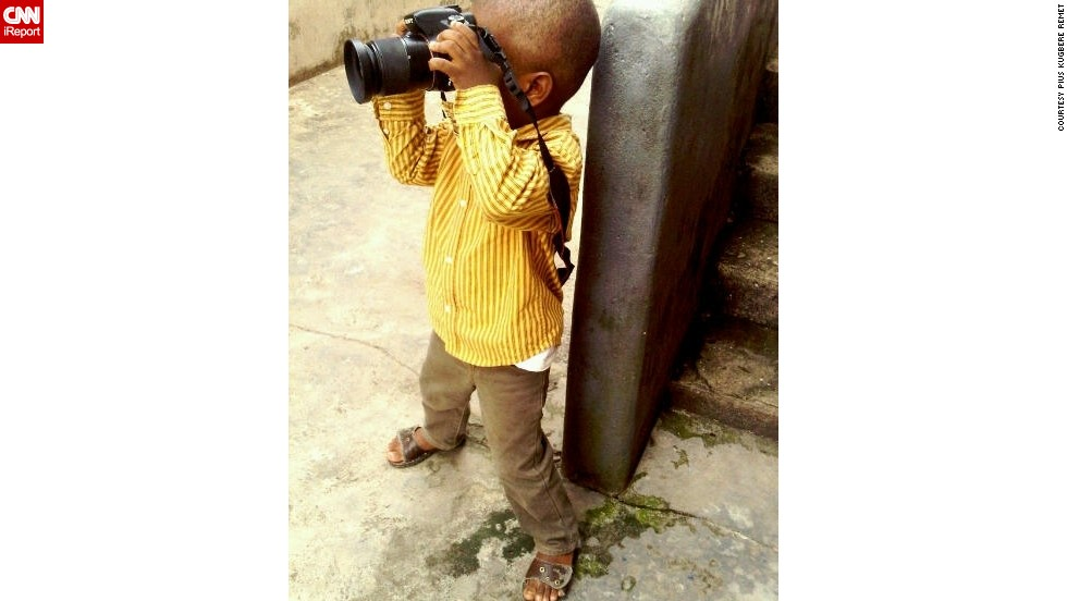 Living in Lagos, Nigeria, the talented boy likes taking pictures of landscapes, portraits and street life.
