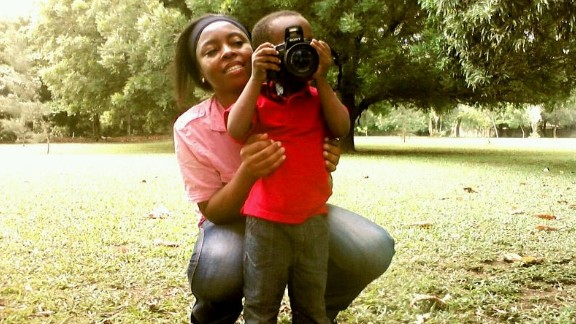 """""""I hope he grows up to become a larger than life photographer, who'll explore his natural platform to impact remarkably on the course of humanity,"""" says proud dad Pius Kugbere Remet, himself an artist and graphic designer."""