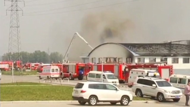 Dozens dead in China poultry plant fire