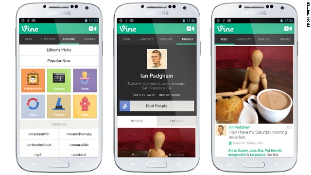 Vine Twitter 39 S That Lets You Shoot And Share Looping
