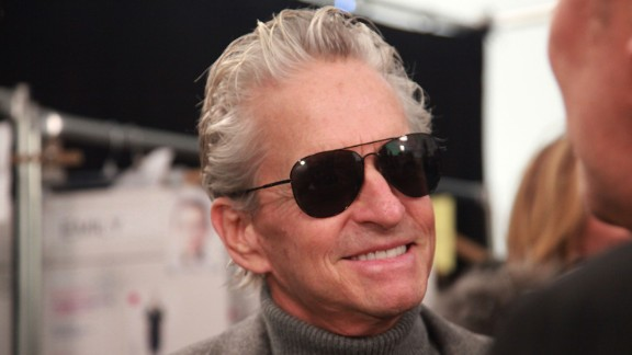 "Michael Douglas offered some interesting insight as to how he may have developed the throat cancer that he was diagnosed with in August 2010. Douglas later told the ""Today"" show that his tumor was gone."