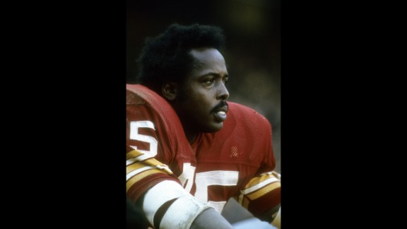 Jones finished his career with the Redskins in 1974 after being traded two years earlier to the Chargers.