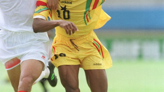 He was also captain of Ghana
