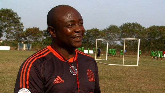 Today, the football legend coaches and mentors young players in Ghana.