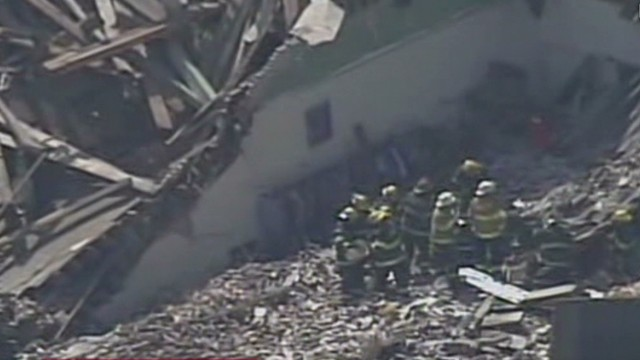 Victims trapped in building collapse