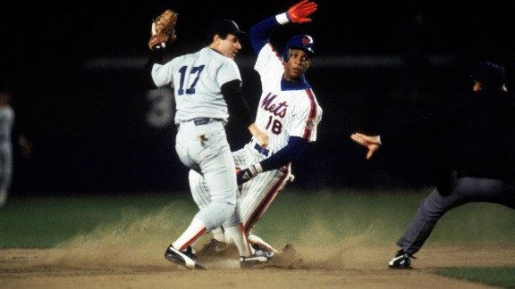 Darryl Strawberry, right, was suspended multiple times throughout his career for cocaine possession and soliciting prostitutes. Strawberry released a book in which he claims that several players with the 1980s Mets committed the same offenses.