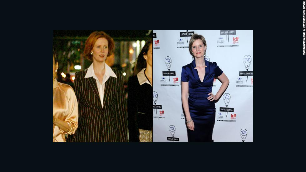 "Cynthia Nixon's Miranda Hobbes was a bit of a workaholic, and the actress has showed similar stamina. She has steadily worked on stage and screen, even appearing as herself on an episode of ""30 Rock."" In 2017 she starred in the film ""The Only Living Boy in New York."""