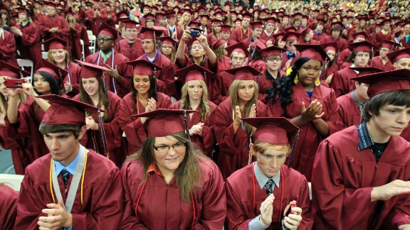Joplin, Missouri, seniors applaud President Obama. Robert Balfanz and John Gomperts say U.S. graduation rates must increase.
