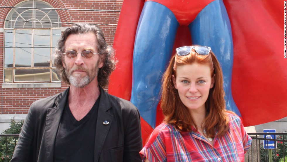 "John Glover (left) and Cassidy Freeman were headlining celebrities at the 2012 event. Both are actors from the TV series ""Smallville."" This year, Margot Kidder, Michael Rosenbaum and others will attend."