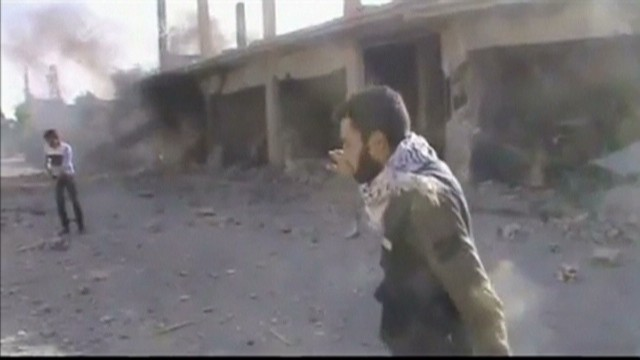 Video evidence of Syria using sarin gas?