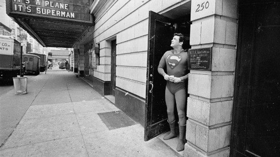 """Bob Holiday takes Superman to Broadway in 1966, starring in the musical """"It's a Bird It's a Plane It's Superman!"""""""