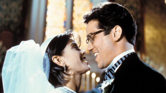 """Dean Cain and Teri Hatcher co-star in the television series """"Lois and Clark: The New Adventures of Superman."""" The show aired on ABC from 1993 to 1997."""