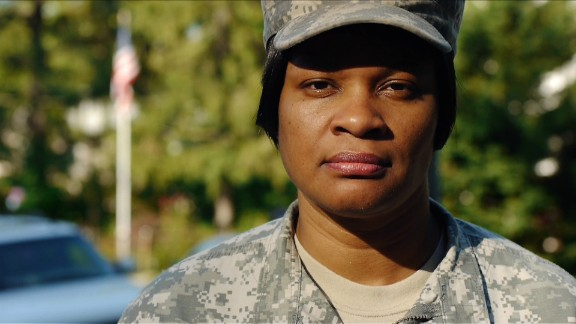 """Jaspen Boothe is committed to helping her female comrades, """"whether they"""