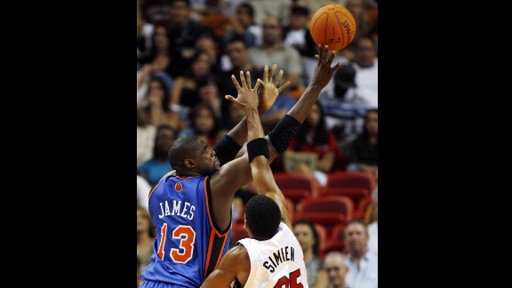 Jerome James averaged three points a game after signing with the New York Knicks for $30 million in 2006.