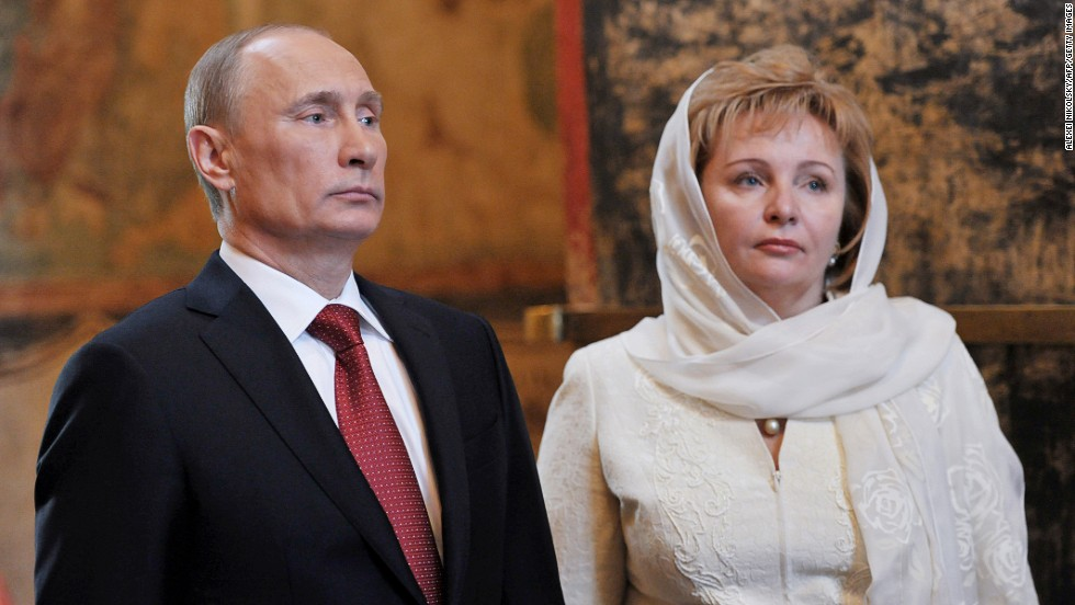Putin and his wife, Lyudmila -- seen here in 2012 -- announced the end of their marriage in June 2013.