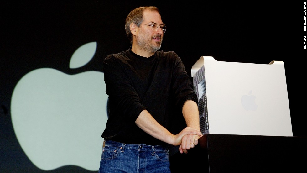 "At WWDC 2003, Jobs unveiled the new Power Mac G5 desktop computer as well as iPhoto, iMovie and other software tools. That year Apple also pre-screened the Pixar movie, ""Finding Nemo."""