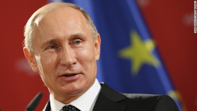 "Vladimir Putin: ""There is indeed a certain difference of view between us and the U.S."""