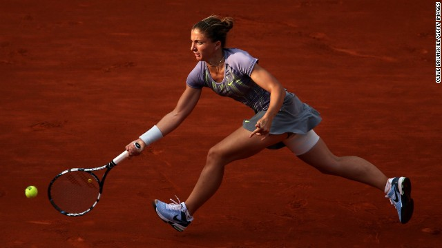 Errani tested positive for the banned drug letrozole last year.