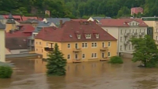 Germany reeling from record floods