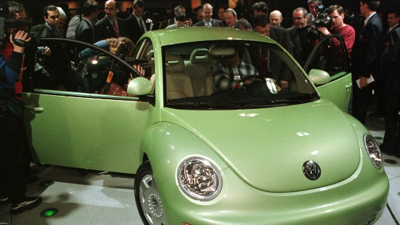 """Volkswagen released its """"New Beetle"""" car in 1998, much to the fascination of the swarming media at an auto show in Detroit, Michigan. That same year, a movie rivalry popped up between two insect-filled films: """"A Bug's Life"""" and """"Antz."""""""