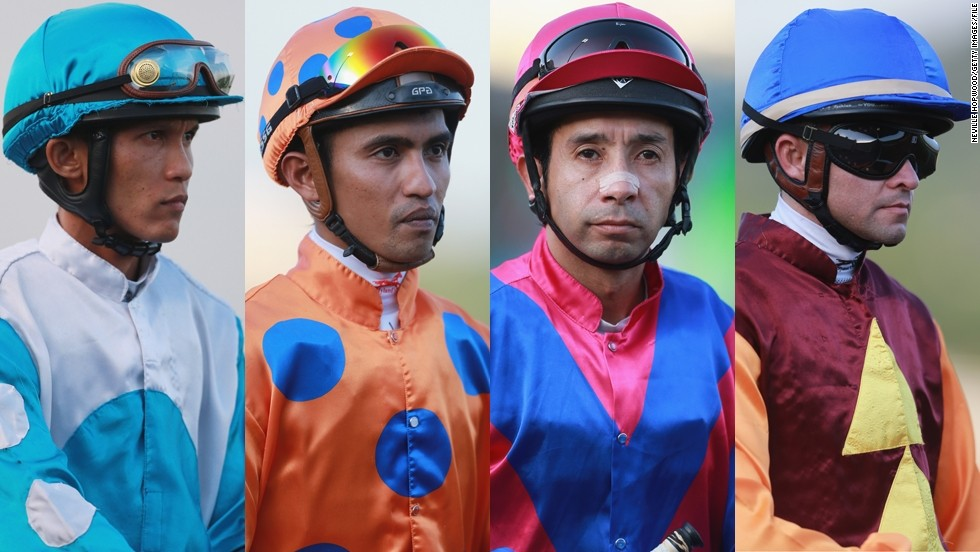 Colorful, shiny, and flamboyant. Welcome to the world of jockey silks. They might look like circus costumes, but these uniforms have a rich tradition and important function.