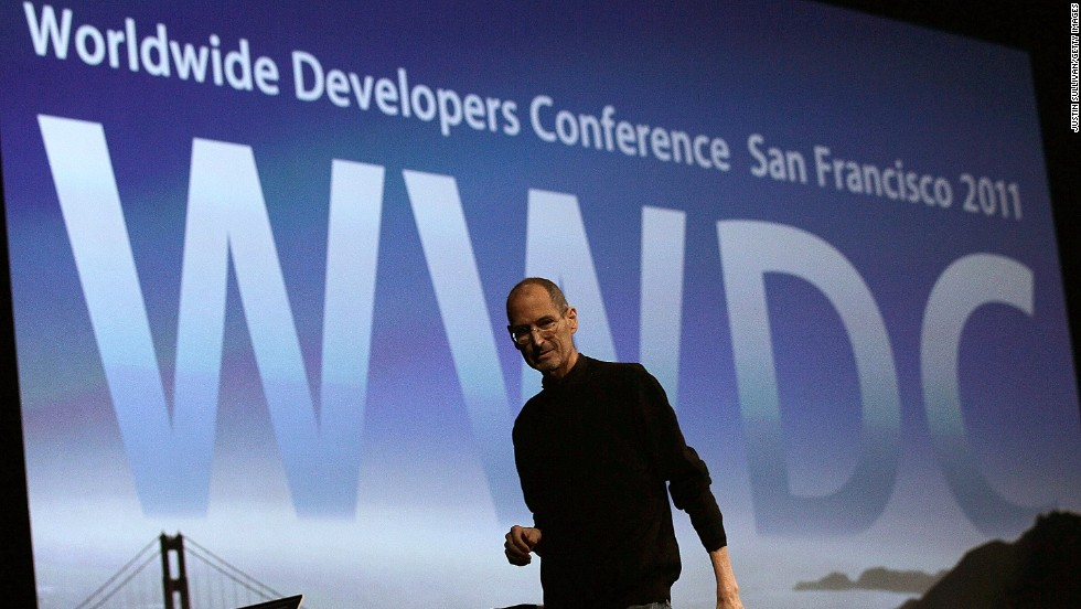 Jobs returned from another medical leave to deliver the WWDC keynote address on June 6, 2011, when he introduced Apple's iCloud storage system. The Apple co-founder died four months later.