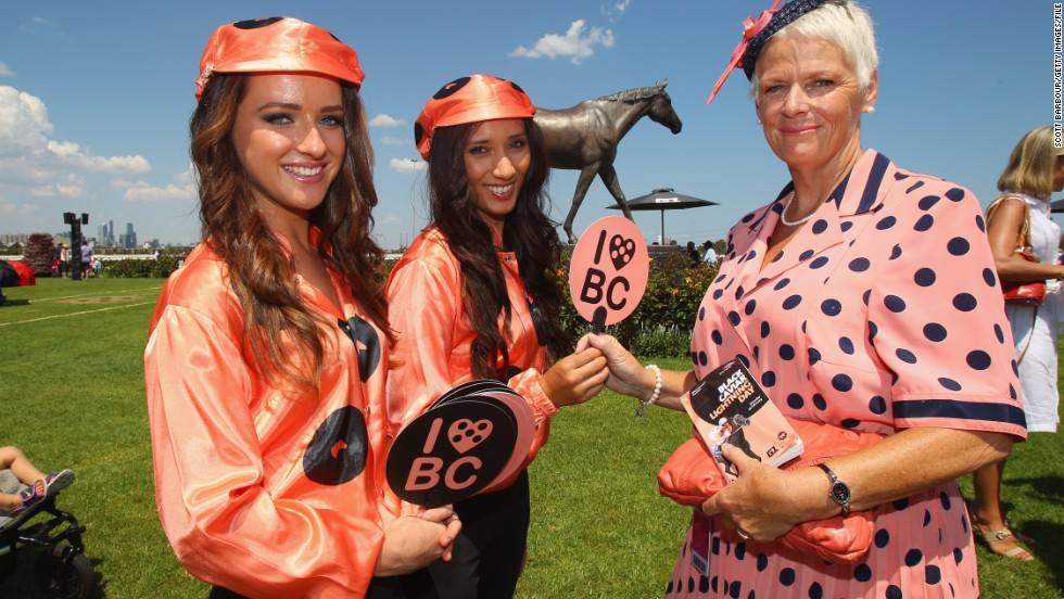 Some horse's colors however, are so famous that they can never be used by another thoroughbred again. Australian champion Black Caviar -- who recently retired after an unbeaten 25-win career -- is now the only horse allowed its distinctive salmon pink and black-spotted silks.
