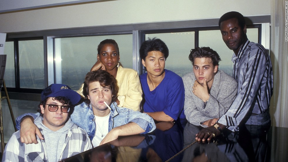 "Actor, musician, sex symbol and occasional weirdo Johnny Depp turns 50 years old on Sunday, June 9. Here, he's pictured with his ""21 Jump Street"" co-stars in 1987. Look back at his amazing rise to superstardom.<br />"