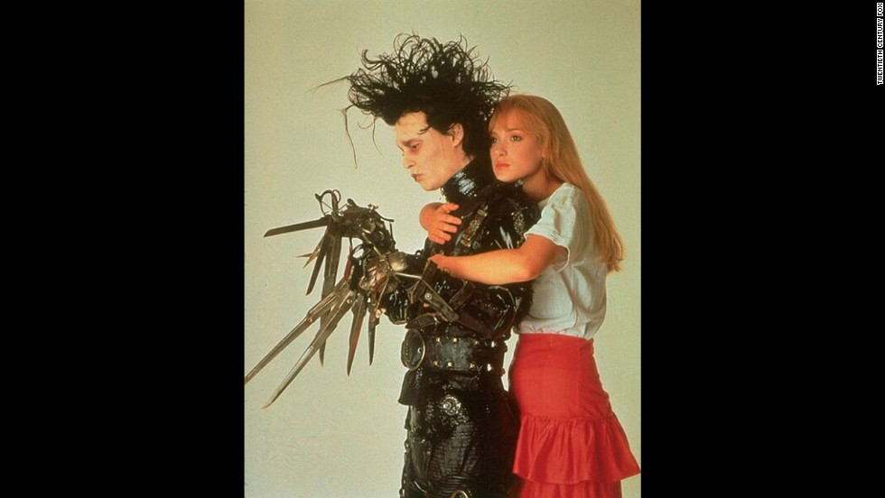 "Depp and Winona Ryder began dating in 1990, around the time they co-starred in Tim Burton's ""Edward Scissorhands."""